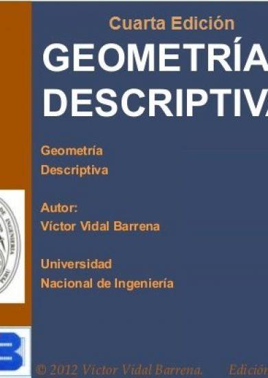 Geometría Descriptiva (4ta Edición) - Victor Vidal Barrena | Libro