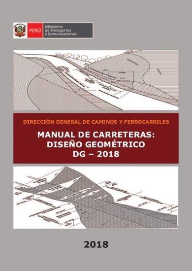 Manual de Carreteras: Diseño geométrico (MTC) DG – 2018 PDF