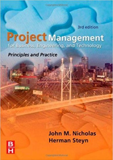 Project Management for Engineering, Business and Technology – J. Nicholas   3rd Edition   Libro PDF